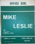 Leslie, Mike: - Office girl