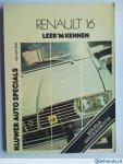 Ball Kenneth - Renault 16 Leer 'm kennen