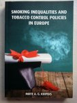 Mirte A G Kuipers - Smoking inequalities and tabacco control policies in Europe
