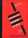 Francis Lamond, Stephane-Jacques Addade, Maurice Culot - Portfolios modernes Art deco.