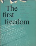 N/A. - THE FIRST FREEDOM.
