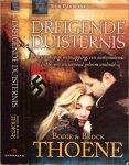 Thoene , Bodie & Brock Vertaald door Carla de laat - Dreigende duisternis   Een wanhopige ontsnapping, een ontbrandende liefde, een eeuwenoud geheim onthuld