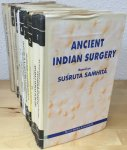 Singhal, dr. G.D. & colleagues - Ancient Indian surgery, based on Susruta Samhita, 10 volumes (COMPLETE)