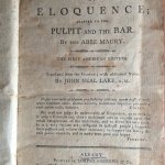 Maury, Jean Siffrein - The principles of eloquence : adapted to the pulpit and the bar.