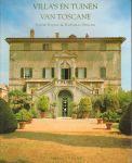 Bajard, Sophie & Raffaello Bencini - Villa's en Tuinen van Toscane, 223 pag. softcover, zeer goede staat