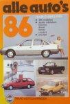 Dubbelman, Huub - Alle auto`s  `86 /1984.[  3396 modellen]