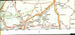 ANWB Service Advies en Verkoop .. Omslagontwerp Keja Donia - Routekaart  Frankerijk Belgie - Luxemburg.