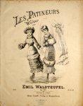 Waldteufel,  Emile: - Les patineurs. Walzer. Op. 183. Piano à 2 mains