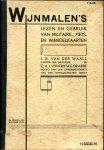 Waall, J.D. van der; C.A.J. von Frijtag Drabbe (ds1214) - Wijnmalen's lezen en gebruik van militaire-, fiets- en wandelkaarten