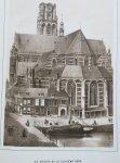 Berckel, H.A. van.   E .a. - Rotterdam geschetst in zijne voornaamste gebouwen, kerken en gestichten. Met bijschriften.