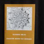 Engelbrecht, W.F.K. - Jaarboek 1981/82  - Stichting Menno van Coehoorn.