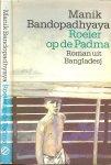 Bandopadhyana Maik Omslag Peter van Hugten - Roeier op de Padma  uit het Engels vertaald  door Hanneke Richard - Nutbey