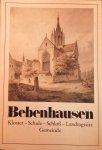 Stuber, dr. (Vortwort) - Bebenhausen; Kloster - Schule - Schloss - Landtagssitz - Gemeinde