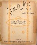 Hickman, Art and Ben Blacherk: - Hold me. Song-Fox-trot