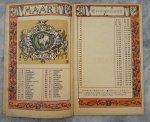 Baetes, Jules (illustraties) - Antwerpen's Almanak (voor) 1898