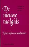 Berg, B. van den e.a. (redactie) - De nieuwe taalgids, jaargang 65, nummer 4, juli 1972