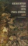 Snoek, Paul - Gedichten 1954 - 1970