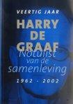 Barnard, W. (Pip) et al. - Notulist van de samenleving: 40 jaar Harry de Graaf