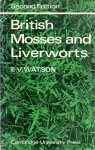 Watson, vernon e(ds1373A) - British Mosses and liverworts