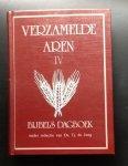 Vlietstra, e.a. onder redactie van Jong Tj. de - Verzamelde Aren IV Bijbels Dagboek 1989