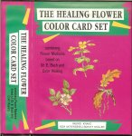 Bach Dr E Color therapy and meditation - The Healing Flower Color Card Set: Combining Flower Medicine Based on Dr. E. Bach and Color Healing