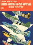 Ward, Richard - Aircam Aviation Series 01, North American P-51D Mustang in USAAF - USAF Service, 48 pag. paperback, goede staat