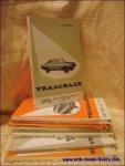 OLYSLAGER, P. - VRAAGBAAK    50 verschillende delen van de   jaren 70 en 80.