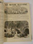 Diversen - Le Monde Ilustré Journal hebdomadaire 1870 - 1871 (10 foto's)