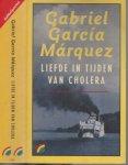 Garcia Marquez, Garcia. Vertaling Mariolein  Sabarte  Omslagontwerp Dooreman - Liefde in tijden van Cholera