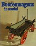 Zwartjes, F.P.J. - Boerenwagens in Model, 106 pag. hardcover, zeer goede staat, boek voor wie meer wil weten over (model) wagenmakerij