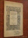 ROTTERDAMSCH BOEKDRUKKERSPRENTENBOEK: - Rotterdamsch Boekdrukkersprentenboek samengesteld bij gelegenheid van het Zeventiende Bibliotheekcongres gehouden op 6 en 7 Juni 1939 te Rotterdam.