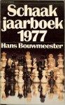 Bouwmeester, Hans met analysen van K. Steijn - Schaak jaarboek 1977 .. heeft een ruimere jas gekregen. De inhoud is als vamouds , een chronologisch overzicht van de belangrijkste schaakgebeurtenissen in het afgelopen jaar 1976