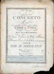 Hermann, Johann David: - [5]ème Concerto pour piano-forte avec accompagnement de deux violons, alto, basse, basson, cors et hautbois (ad libitum)