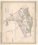 Kuyper, J. - Putte .Gemeente kaart . originele steendruk of lithografie. Uit J. Kuyper. Gemeente Atlas van Noord-Brabant