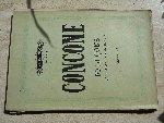 Concone,Giuseppe - Concone. 50 lecons pour le medium de la voix. [Friedlaender].