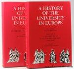 Ridder-Symoens, Hilde De / Walter Rüegg (ed.). - A History of the University in Europe. Volume I. Universities in the Middle Ages. Volume II. Universities in Early Modern Europe (1500-1800) [2 volumes].