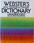 Webster, N. - Webster's New Twentieth Century Dictionary. Unabridged. Second edition- deluxe color