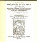 Johannes Isacius Pontanus. - Historische beschrijvinghe der seer wijt beroemde coop-stadt ...