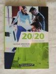Hempelman Robert - 20/20 / Handboek Administratie + CD-ROM.  BUSINESS ENGLISH - NIVEAU 3-4