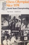 KEENE, R & LEVY, D - Chess Olympiad Nice 1974, World Team Championship