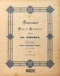 Henselt, Adolphe: - Impromptu pour le pianoforte. Op. 7