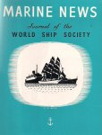 red. - Marine News, Journal of the World Ship Society. Vol. XXV, complete jaargang