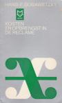 Bobawetzky, Hans-F. - Kosten en opbrengst in de reclame