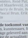 Vermeulen, Julius ; David Quay ; Saskia van der Weide  et al. - Wat is de toekomst van de postzegel?