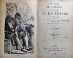DURUY VICTOR - HISTOIRE DE L'EUROPE ET PARTICULIEREMENT DE LA FRANCE