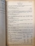 Gemeente Rotterdam - Lot met financiële jaarverslagen van de Gemeente Rotterdam 1937-1946