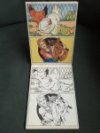 - No. 1860 Postcards to colour with examples