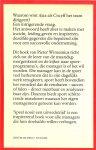 Winsemius, Pieter  ..  Omslagtekening Dick Bruynesteyn  en Omslagontwerp Koos van der Bijl - Speel nooit een uitwedstrijd - topprestaties in sport en management  - blz .. 15 .. Waarom moet een manager zoveel verdienen ..