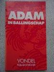 Vondel, Joost van den - Adam in ballingschap. Tekstboekje