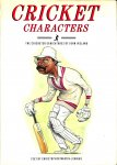 Ireland, John  - Cricket characters. The cricketer caricatures of John Ireland. Text by Martin - Jenkins